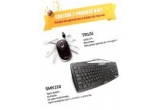 1 x un mouse nJoy TR101 și tastatura nJoy SMK210