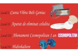 o curea Vibra Belt, un aparat de eliminat celulita, un abonament pe un an la Cosmopolitan, o pereche de hidrohaltere<br type=&quot;_moz&quot; />