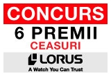 6 x premiu constand in ceasuri LORUS