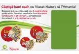 1 x premiu in bani cash– 2500 lei, 1 x premiu in bani cash - 1000 lei, 3 x premiu in bani cash -  500 lei