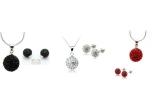 3 x un set de bijuterii Shambala cu elemente Swarovski
