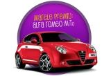 1 x Masina Alfa Romeo Mito, 84 x Ipod Shuffle, 12 x Mini tableta Ipad 16 GB, 6 x Nescafe Dolce Gusto Circolo Automat, 1008 x Abonament voucher Voyo pentru www.voyo.ro, valabil 3 luni gratuit