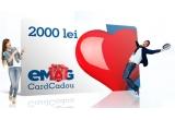 4 x card cadou eMAG in valoare de 2.000 lei