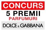 5 x premiu constand in parfumuri DOLCE&GABBANA
