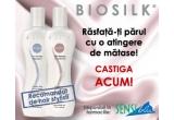 1 x set de produse pentru ingrijirea parului cu proteina de matase BIOSILK