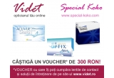 1 x un VOUCHER in valoare de 300 RON