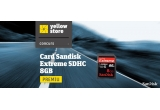 1 x un stick USB SanDisk Extreme SDHC 8GB