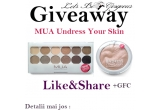 1 x o paleta de farduri MUA Undress Me Too + un Illuminator MUA Undress Your Skin