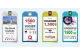 """1 x City Break la Lisabona pentru 2 persoane, 1 x voucher de 1500 ron pentru cumparaturi din gama """"Accesorii"""" din magazinul online quickmobile.ro, 1 x voucher de 1500 ron pentru cumparaturi din orice magazin Sephora, 1 x voucher de 1500 ron pentru cumparaturi din orice magazin Oxette sau un voucher in valoare de 1.500 lei pe care ii poti cheltui pe www.coilprofil.ro"""