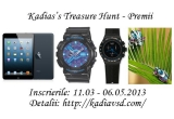 1 x o tableta Apple: iPad mini, 1 x un ceas CASIO sau SWATCH, 1 x o bijuterie SWAROVSKI
