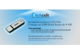 1 x un USB Stick Hama de 8GB