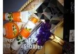 1 x set compus din demachiant + masca pentru ten + crema de fata Pure Nature, 1 x o caseta de farduri + glossuri + blush-uri by Marcel, 1 x Muse, un parfum delicios, floral, cu note de mar verde, violeta si mosc alb