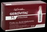 3 x set de fiole cu acid hialuronic din gama Gerovital H3 Evolution