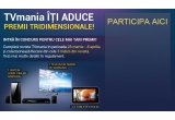 1 x televizor 3D Samsung, 1 x sistem home cinema Samsung, 3 x tableta Evolio