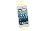 1 x iPhone 5 alb