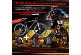 1 x bicicleta de munte Cross Gravito + Casca bicicleta sosea BELL Lumen red + Rucsac hidratare PRO Vortex H2O + Ciclocomputer Cateye Wireless CC-VT210W negru