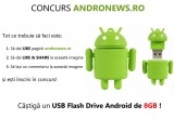 1 x USB Flash Drive Android de 8GB