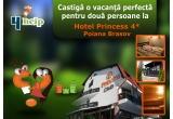 1 x 2 nopti cazare la Hotel Princess 4* din Poiana Brasov