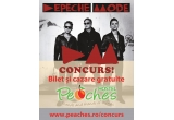 1 x bilet Depeche Mode + cazare Hostel Peaches