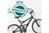 1 x bicicleta DHS, 30 x 2 meniuri Spring Burgers + 2 Frigarui Grill Sandwich + 2 salate Spring Mix + 8 bucati baclavale