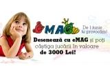 1 x Card Cadou eMAG in valoare de 3.000 ron, 10 x Card Cadou eMAG in valoare de 100 ron