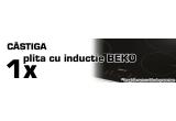 1 x o plita cu inductie de la BEKO + 50 puncte