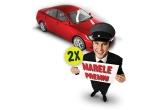 2 x masina + sofer timp de 1 an sau contravaloarea in bani, 630 x cupon calatorie gratuita cu taxiul sau contravaloarea in bani, 630 x cartela prepaid in valoare de 25 euro sau contravaloarea in bani