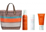 4 x spray + crema nuantatoare + brosura Avene Sun Care + geanta plaja