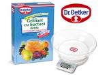 5 x cantar de bucatarie + cutie de Gelifiant cu fructoza dietetic Dr. Oetker + retetar