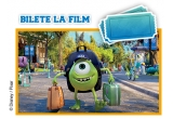1 x excursie la Paris/ Londra/ Amsterdam, 300 x set de tricouri Disney•Pixar Universitatea Monstrilor