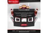 3 x tableta Serioux S718TAB, 500 x cafea in cadrul magazinelor Inmedio din Romania, 10 x voucher cadou folosibil in magazinele Inmedio din Romania pentru achizitionarea a 4 reviste la alegere