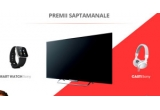 4 x Smart TV Sony, 4 x Smart Watch Sony, 4 x pereche de casti Sony