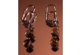 2 x pereche de cercei cu pietre semipretioase
