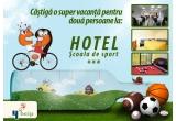 1 x vacanta (2 nopti de cazare) la Hotel Scoala de Sport din Poiana Brasov