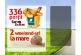 2 x weekend la mare hotel 3* in cadrul lantului hotelier Majestic, 336 x Spring Snacks