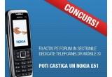 un telefon Nokia E 51<br />
