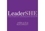 4 x invitatie la conferinta LeaderSHE