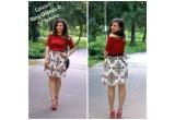 1 x fusta creatie a designerului Mimi Chipaila