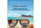 7 x pereche de ochelari Polaroid, 1 x croaziera MSC pe Mediterana 7 nopti pentru 2 persoane