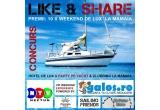 1 x weekend de lux la mare in perioada 30 - 31 august pentru 10 persoane, 4 x weekend de lux pentru 2 persoane