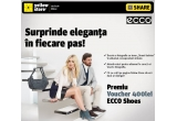 1 x voucher in valoare de 400 lei la ECCO Shoes