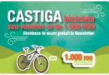 1 x Bicicleta X-Fact Kilimanjaro sau voucher cumparaturi de 1000 ron pe hervis-sports.ro