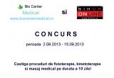 1 x pachet de proceduri de reabilitare pe durata a 10 zile oferite de Bio Center Medical