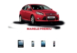 1 x masina Ford Focus Titanium 1.0L EcoBoost 125 CP, 1 x iPad 4 cellular, 1 x iPhone 5 16GB, 1 x mini iPad cellular 16GB, 1 x iPod Nano 16GB