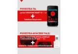 8 x Pachet Vodafone Smart 10, 8 x Pachet Vodafone Office Complet; premii surpriza saptamanal