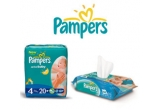 10 x pachet Pampers (pachet de scutece Pampers Active Baby + servetele umede Pampers Baby Fresh)