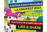 5 x invitatie dubla la Kinofest 2013