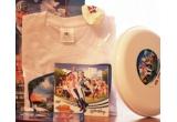 3 x pachet LazyTown (tricou inscriptionat + Frisbee + stickere Lazy Town + balon + desen Lazy Town pentru colorat + DVD-ul cu primul episod din noua serie Lazy Town)