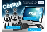 "1 x Monitor Asus 23"" FullHD VX238T, 1 x Tastatura Microsoft Sculpt Confort, 1 x Mouse Microsoft Arc Touch"