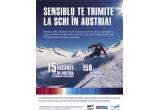 15 x vacanta la schi in Austria, 150 x pachet cu produse cosmetice